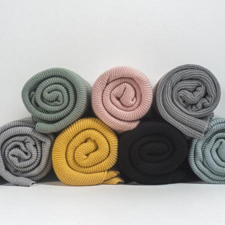 Picture of Jollein® Blanket 75x100cm Forest Green