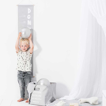 Picture of Jollein® Growth chart ABC Soft Grey