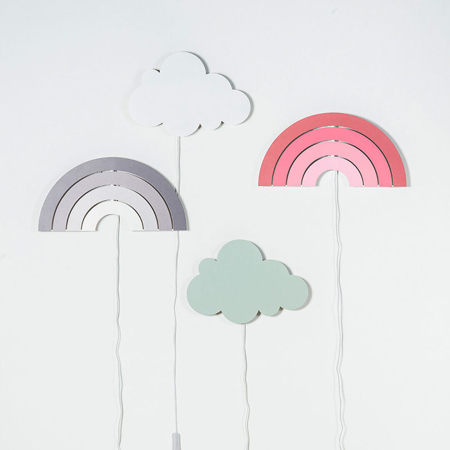 Picture of Jollein® Lamp Clouds White