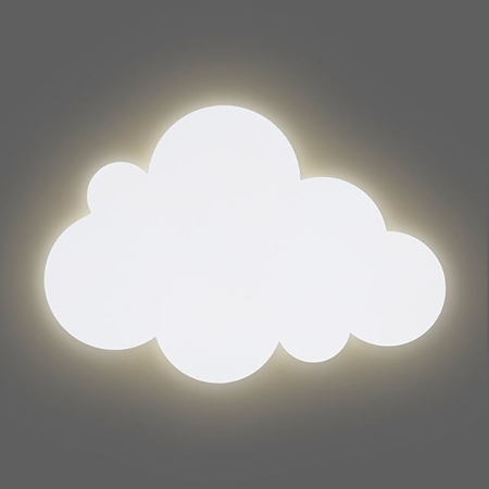 Jollein® Lamp Clouds Green