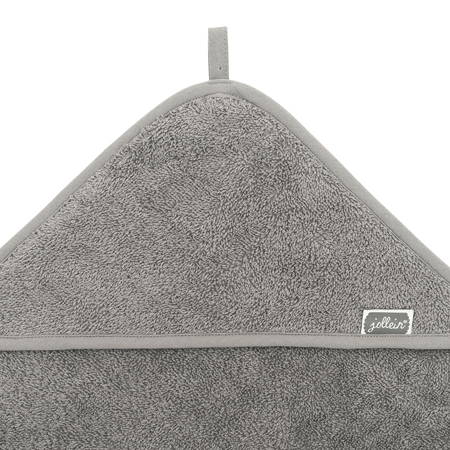 Picture of Jollein® Terrycloth Bathcape 75x75cm Storm Gray