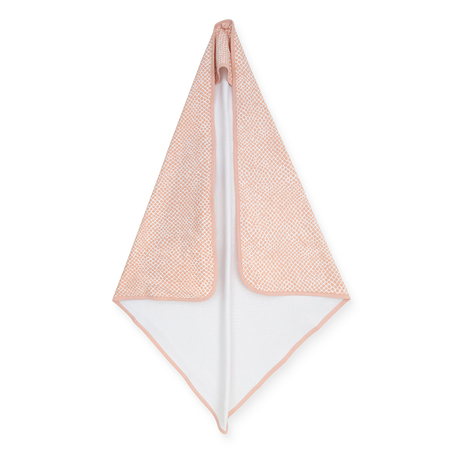 Picture of Jollein® Terrycloth Bathcape 75x75cm Snake Pale Pink