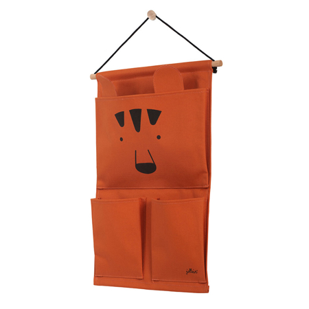 Jollein® Wall organizer Canvas Animal club Rouge