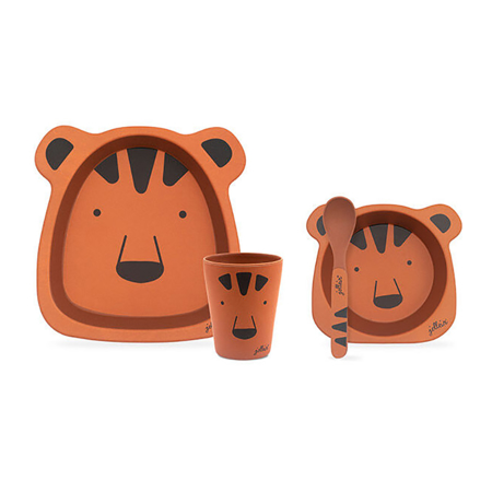 Picture of Jollein® Dinner set bamboo Animal Club Rest