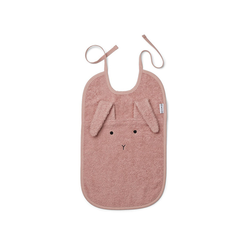 Picture of Liewood® Terry Bib - Rabbit Rose