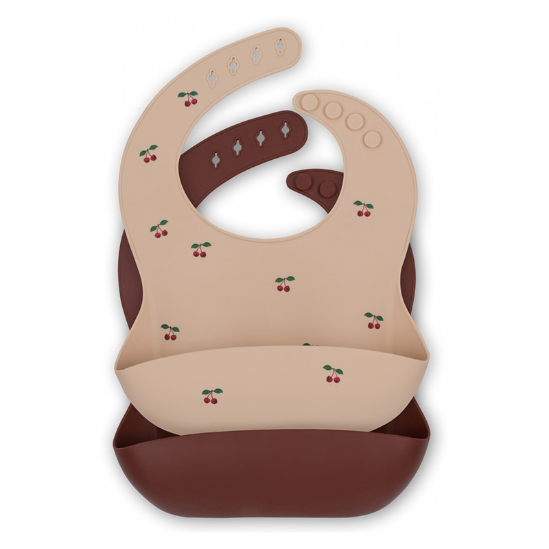 Picture of Konges Sløjd® Baby bib Silicone 2 pack