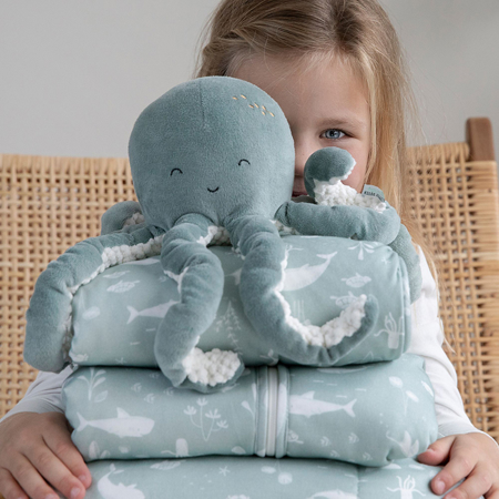 Picture of Little Dutch® Cuddly toy Octopus Ocean Mint