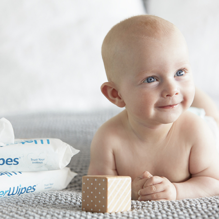 Picture of WaterWipes® Sensitive Skin Baby Wipes 4x60/1