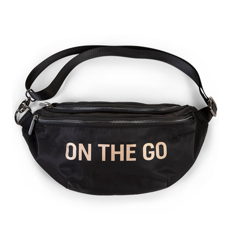 Picture of Childhome® Banana bag On the Go Hip Bag Black
