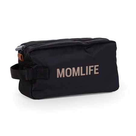 Picture of Childhome® Momlife Toiletry Bag Black Gold