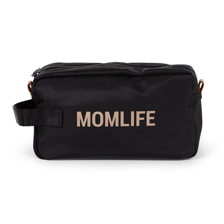 Childhome® Momlife Toiletry Bag Black Gold