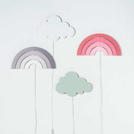 Picture of Jollein® Lamp Rainbow Blush Pink