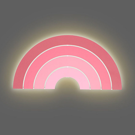 Jollein® Lamp Rainbow Blush Pink