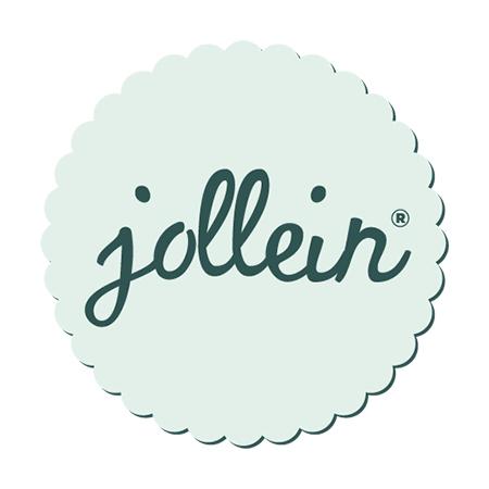 Picture of Jollein® Basket Canvas Rainbow Blush Pink