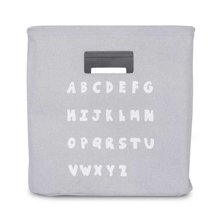 Picture of Jollein® Basket ABC Soft Grey
