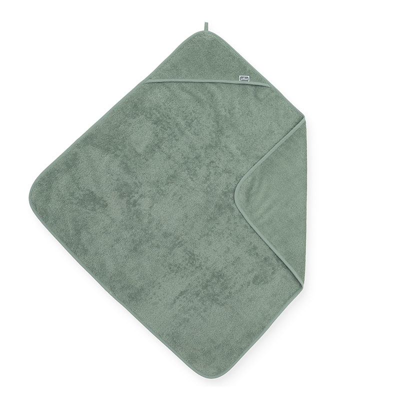 Picture of Jollein® Terrycloth Bathcape Ash Green 75x75cm