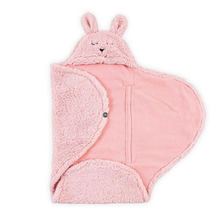 Picture of Jollein® Wrap blanket Bunny Pink 105x100