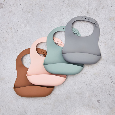 Picture of Jollein® Baby bib silicone Ash Green