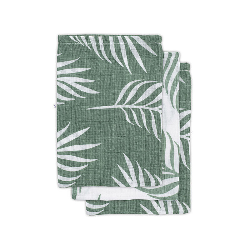 Picture of Jollein® Hydrophilic wash cloth Nature  Ash Green (3pack)