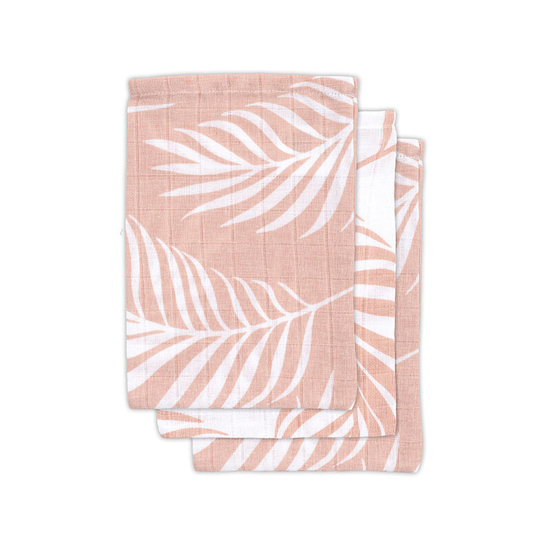 Picture of Jollein® Hydrophilic wash cloth Nature Pale Pink (3pack)