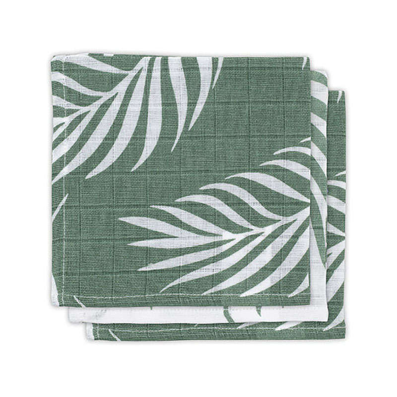 Picture of Jollein® Mouth cloth hydrophilic Nature Ash Green (3pack)
