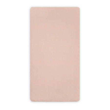 Jollein® Fitted Sheet Jersey Pale Pink 120x60