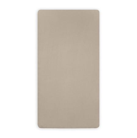 Jollein® Fitted Sheet Jersey Nougat 120x60