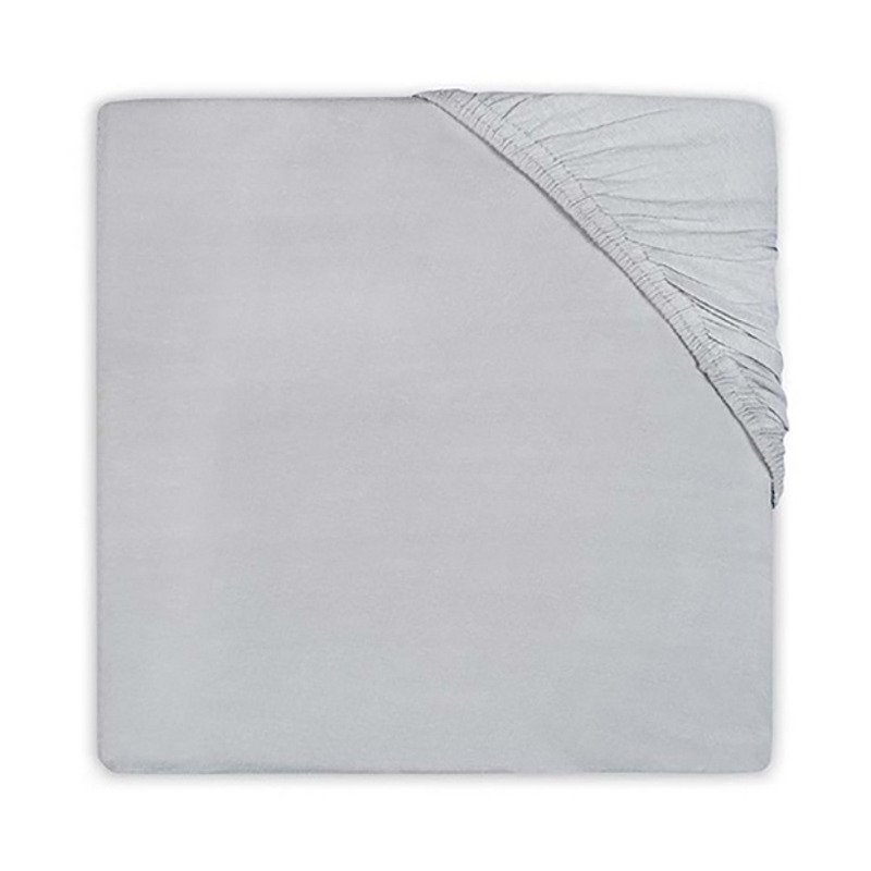 Picture of Jollein® Fitted Sheet Jersey Storm Grey 120x60