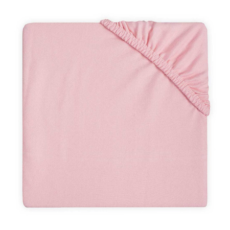 Picture of Jollein® Fitted Sheet Double Jersey Blush Pink 120x60
