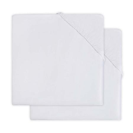 Jollein® Fitted Sheet Jersey Soft Grey 140x70/150x75