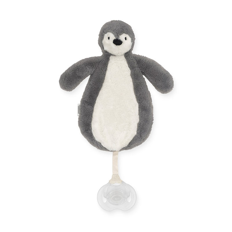 Picture of Jollein®  Pacifier cloth Penguin Storm Grey