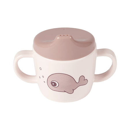 Picture of Done by Deer® 2-handle spout cup Sea friends Powder