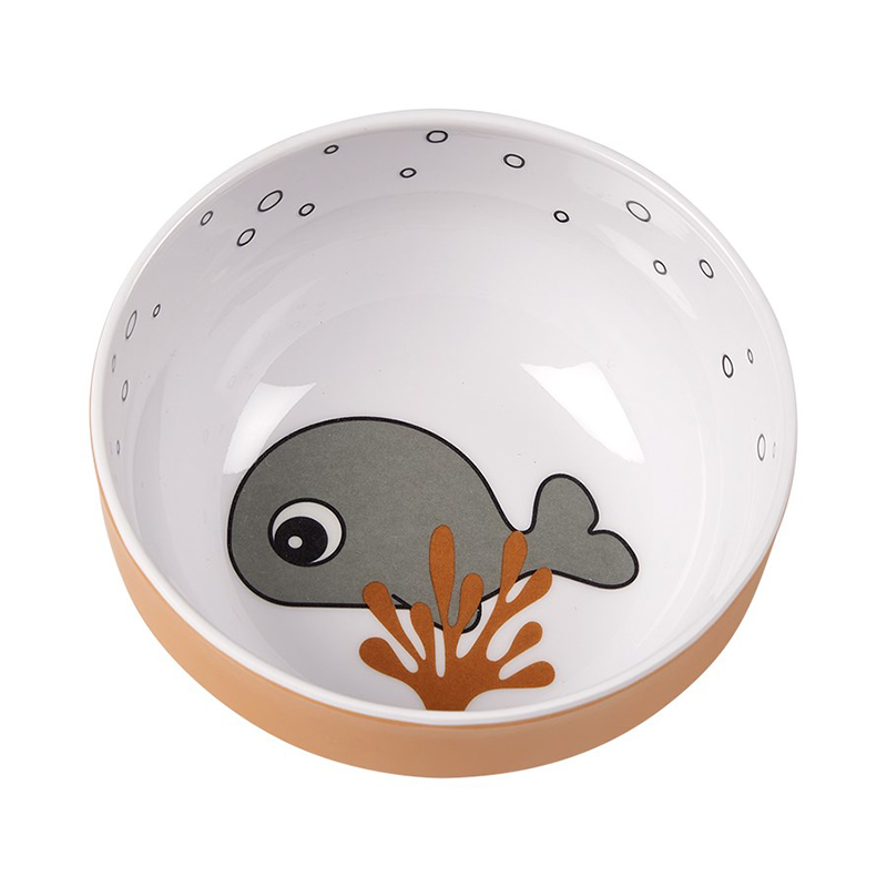 Picture of Done by Deer® Yummy mini bowl Sea friends Mustard/Grey