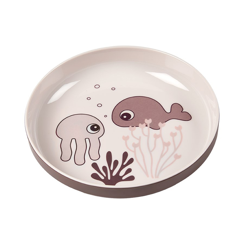 Picture of Done by Deer® Yummy mini plate Sea friends Powder