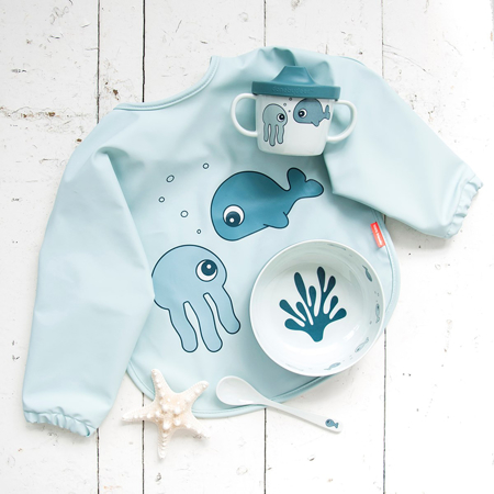 Picture of Done by Deer® First meal set Sea friends Blue
