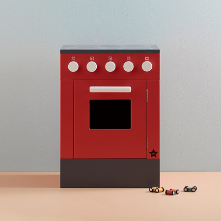 Kids Concept® Stove BISTRO Red
