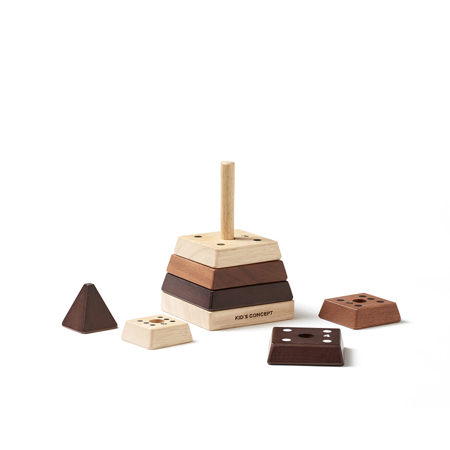 Picture of Kids Concept® Stacking pyramid natural NEO