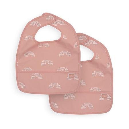Picture of Jollein® Slab waterproof Rainbow Blush (2pack)