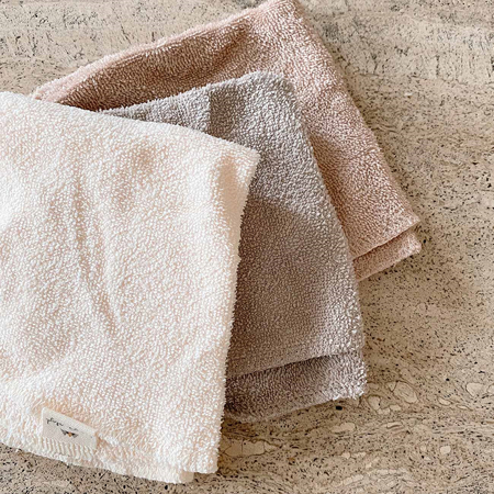 Konges Sløjd® Krpice za umivanje 3 kosi Shades of Sand