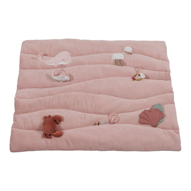 Picture of Little Dutch® Playpen mat Ocean Pink