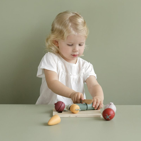 Picture of Little Dutch® Wooden cutting vegetables