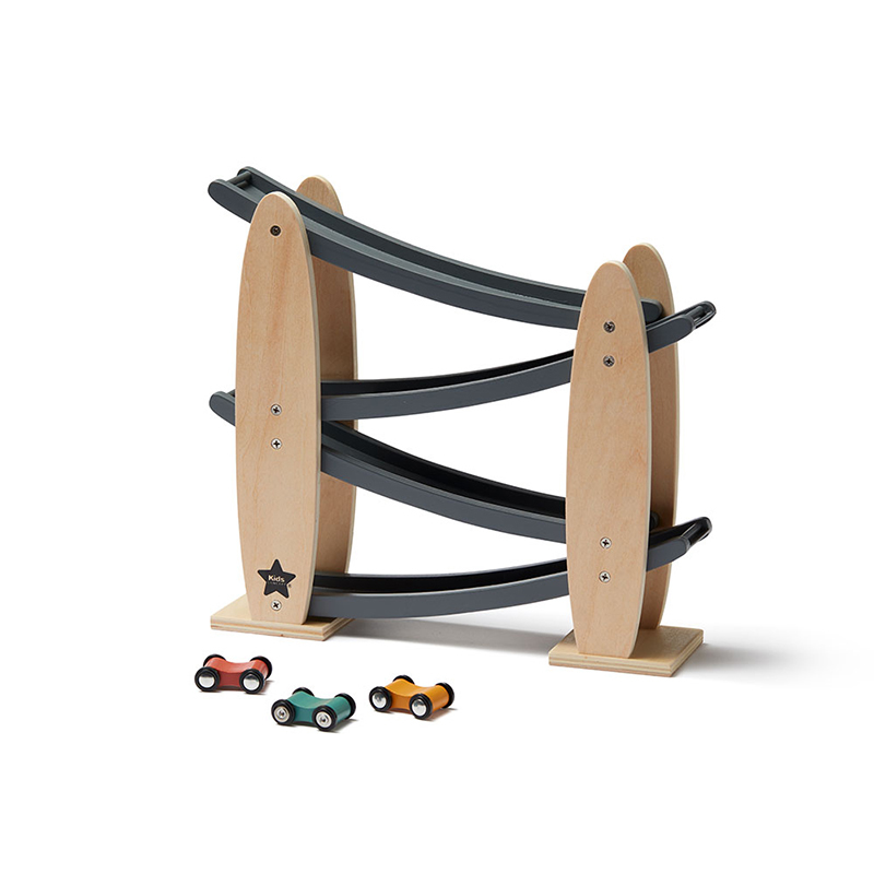 Picture of Kids Concept® Car Track Natural/Grey Aiden