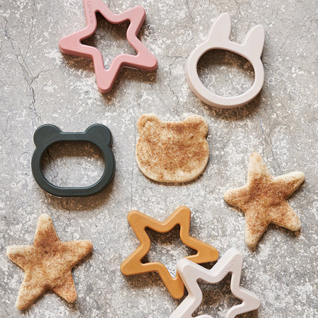 Picture of Liewood® Andy Cookie Cutter 6 Pack Hunter Green mix