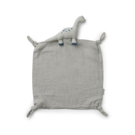 Picture of Liewood® Cuddle Cloth Agnete - Dino Dove Blue