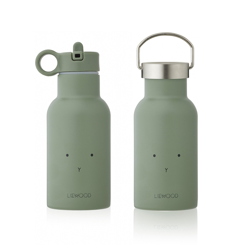 Picture of Liewood® Water Bottle Anker Rabbit Faune Green 350ml