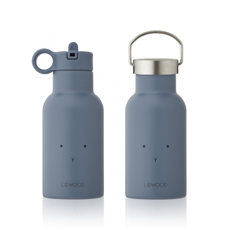 Picture of Liewood® Water Bottle Anker Rabbit Blue Wave 350ml