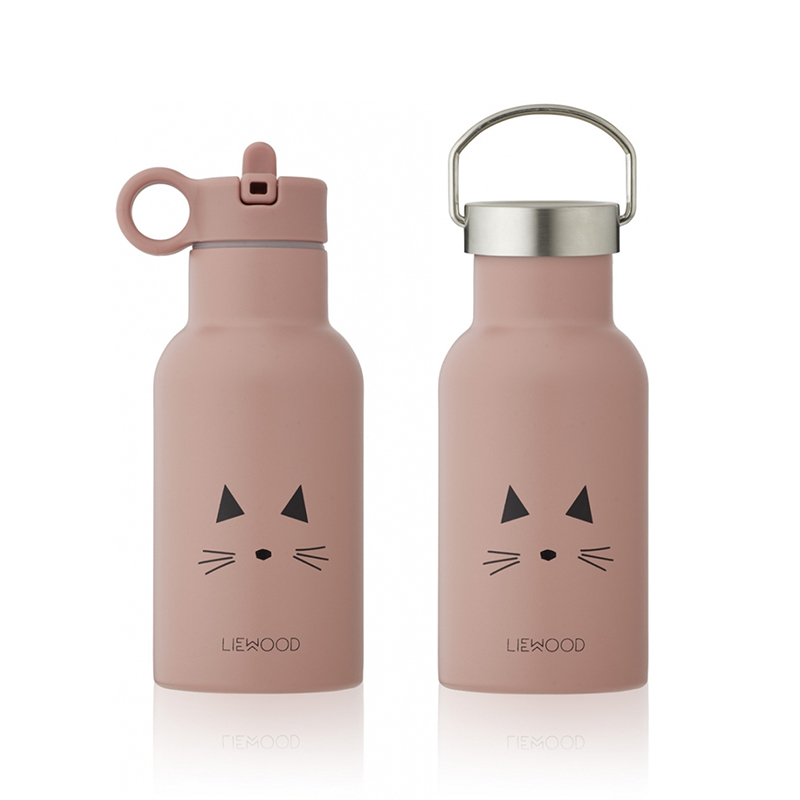 Picture of Liewood® Water Bottle Anker Cat Rose 350ml