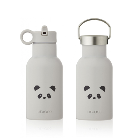 Picture of Liewood® Water Bottle Anker Panda Light Grey 350ml