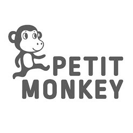 Picture of Petit Monkey® Bamboo tableware gift set Dog
