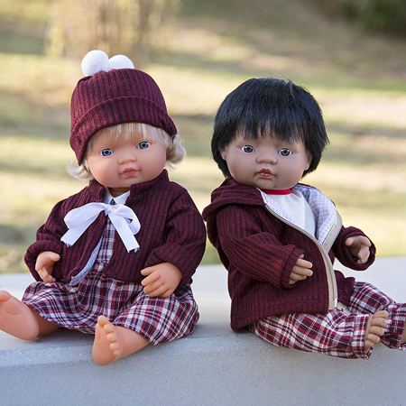 Picture of Miniland® Baby doll Caucasian Boy 38cm